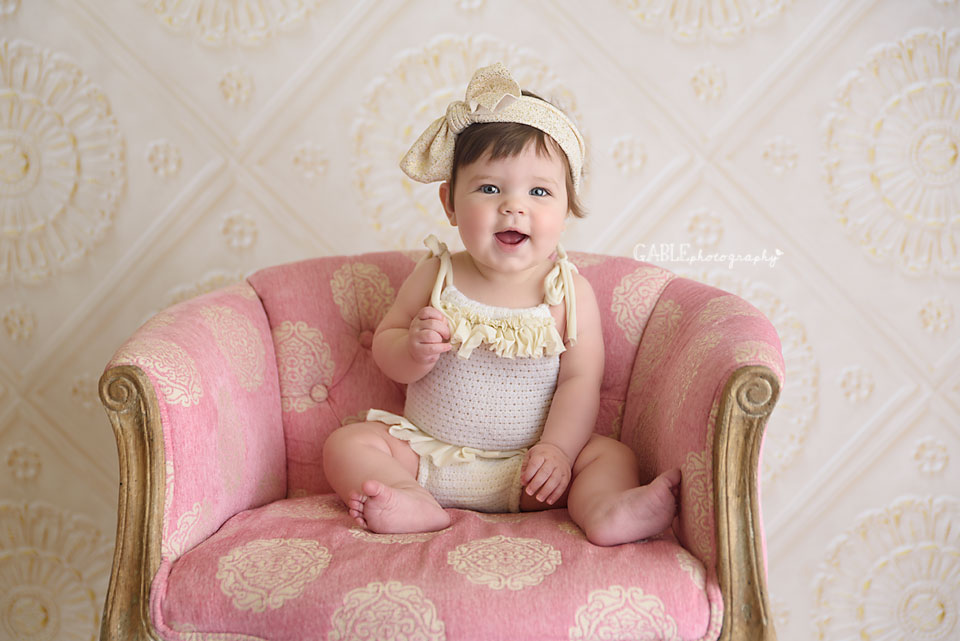6 month photos little girl
