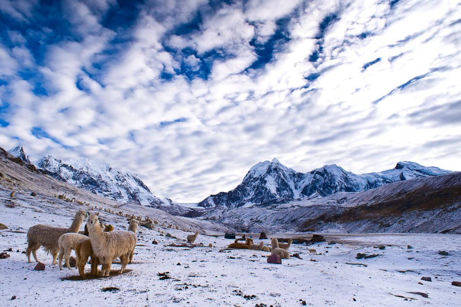 Ausangate trek to glaciers and lakes