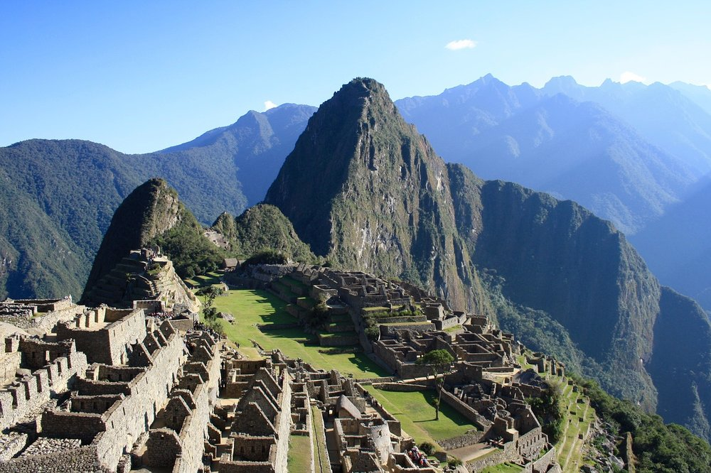 Machu Picchu on a clear day