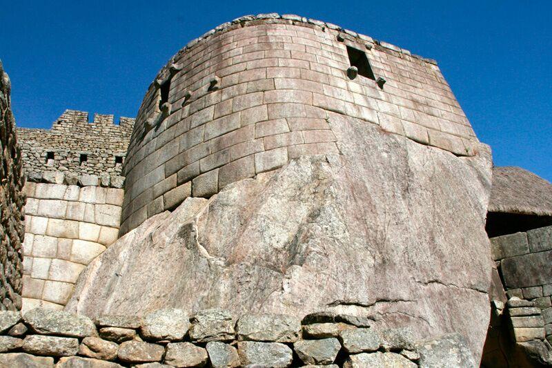Incan stone building
