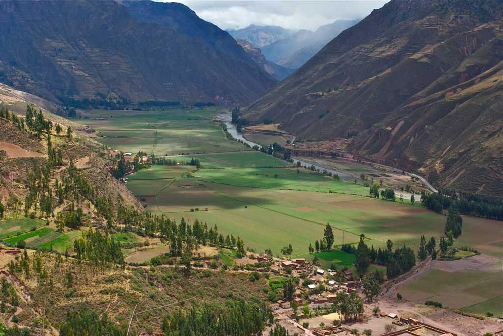 Valley in Peru