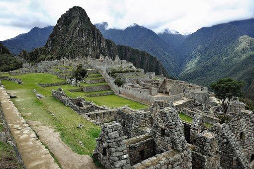 Machu Picchu structures