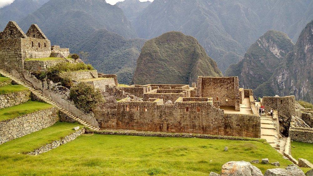 Machu Picchu stone buildings