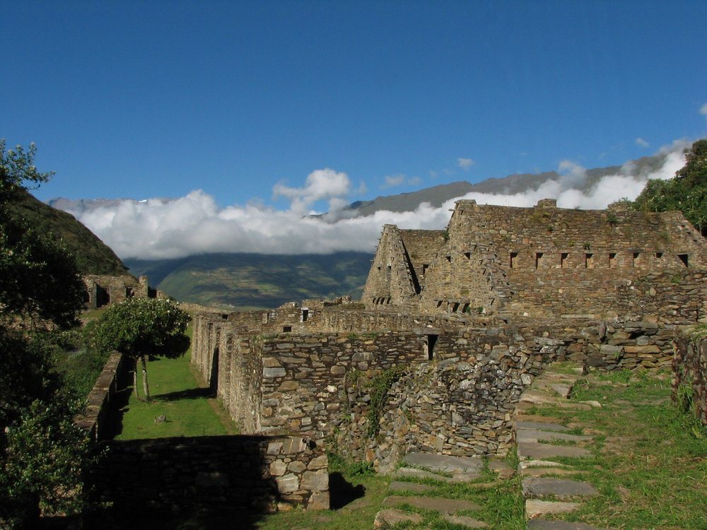 Choquequirao trek to Incan ruins