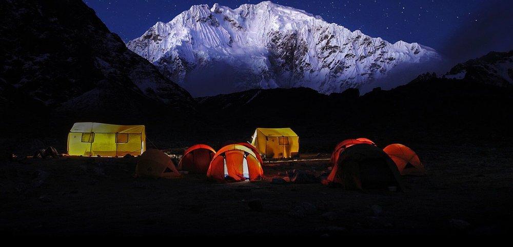 Camping trek to Machu Picchu