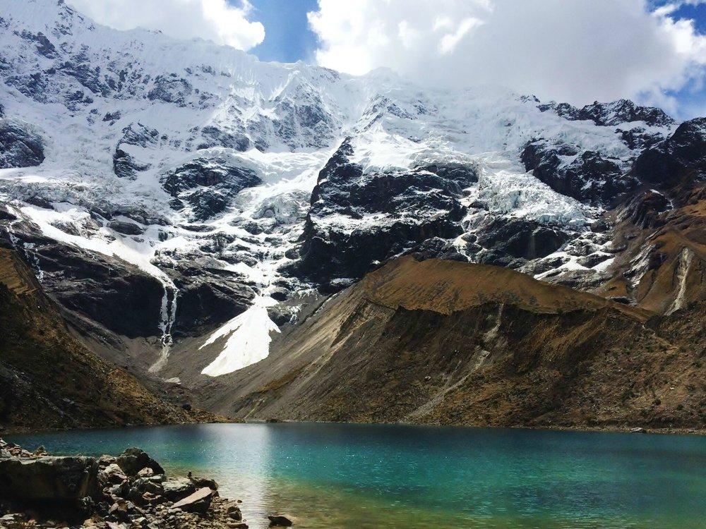 Lake near Machu Picchu