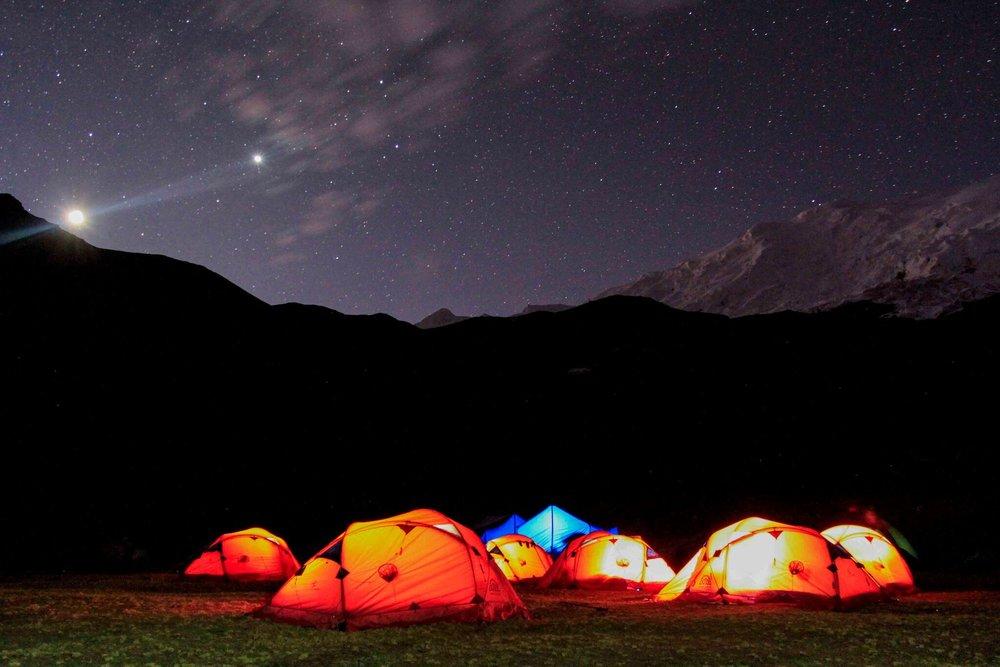 Camping tour to Machu Picchu