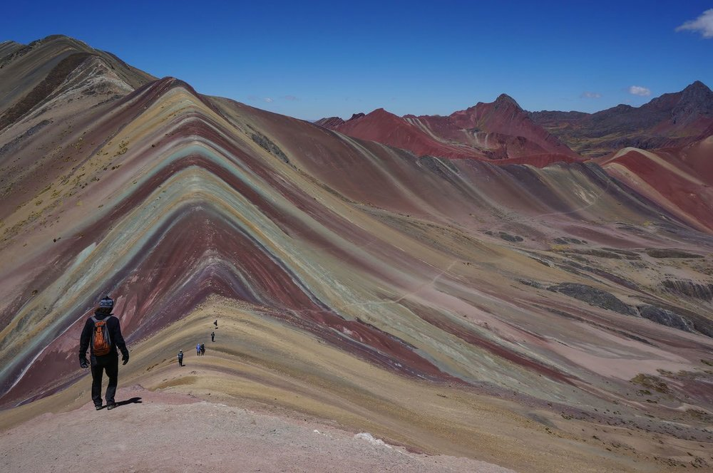 Rainbow Mountain day hike in Peru
