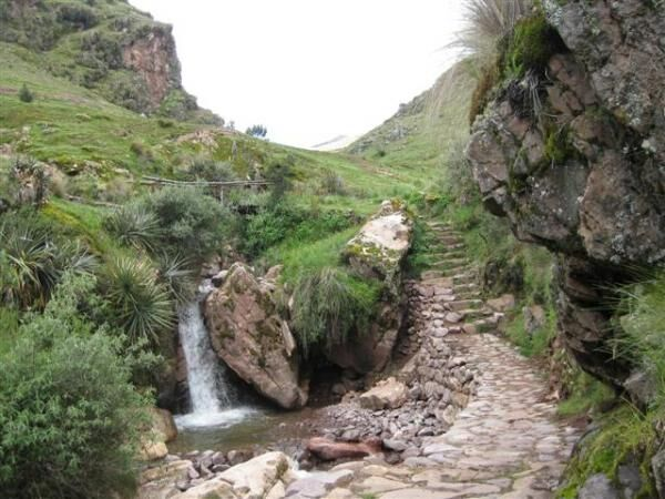Path to Machu Picchu