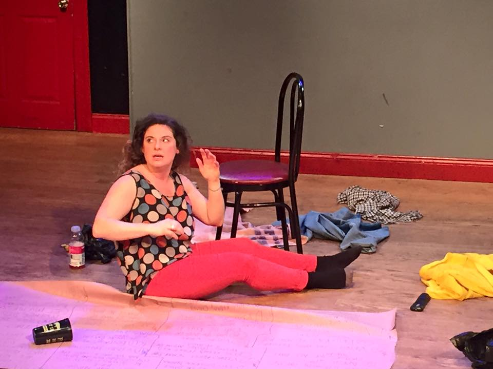 "Alyson Goodman in ""It's Fine"" at The Pit"