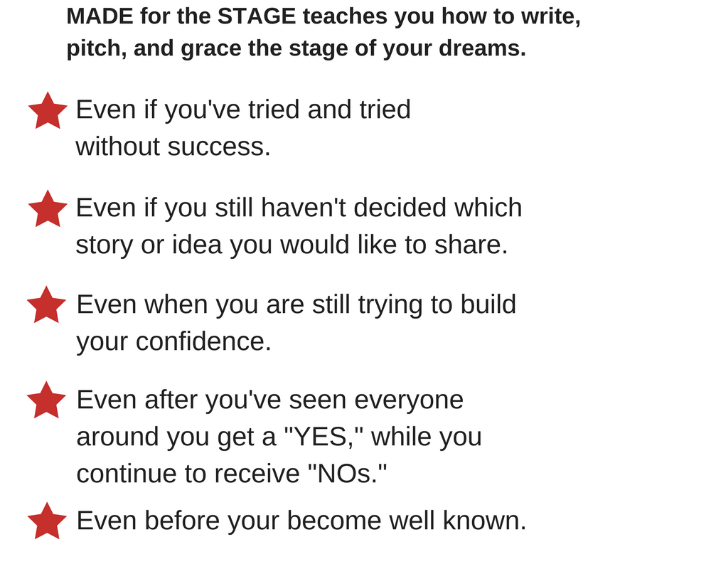 How to be a TEDx Speaker