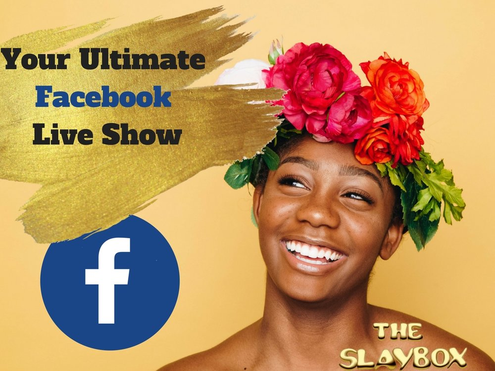 Facebook Live Show Training  Worth $47