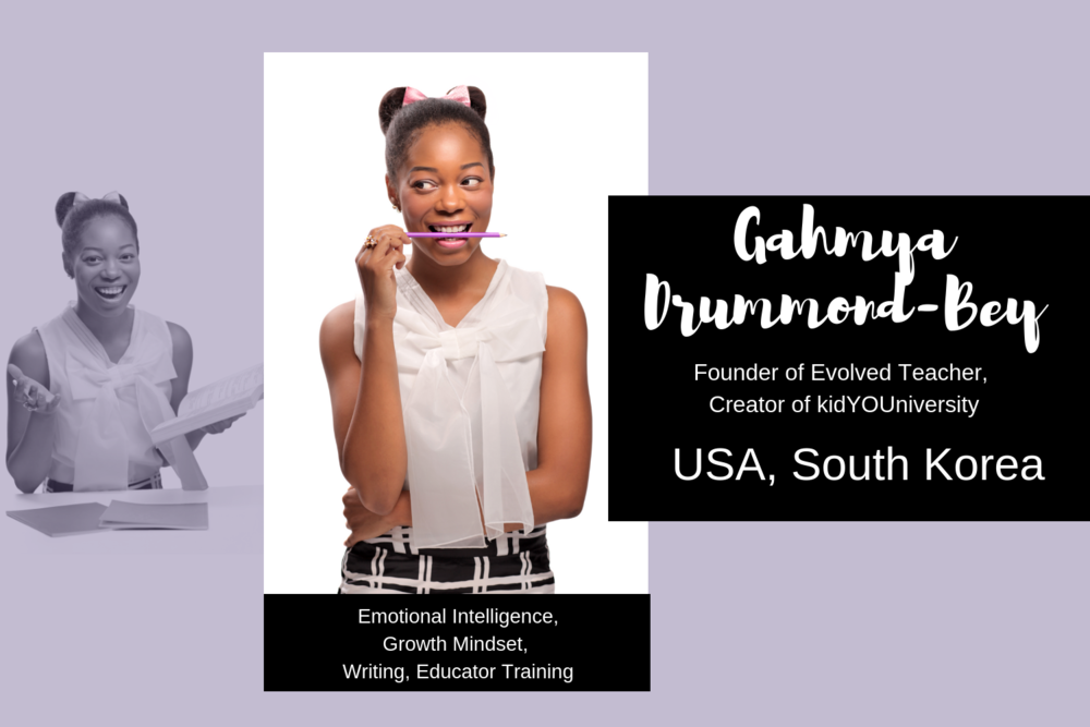 Meet Gahmya Drummond-Bey