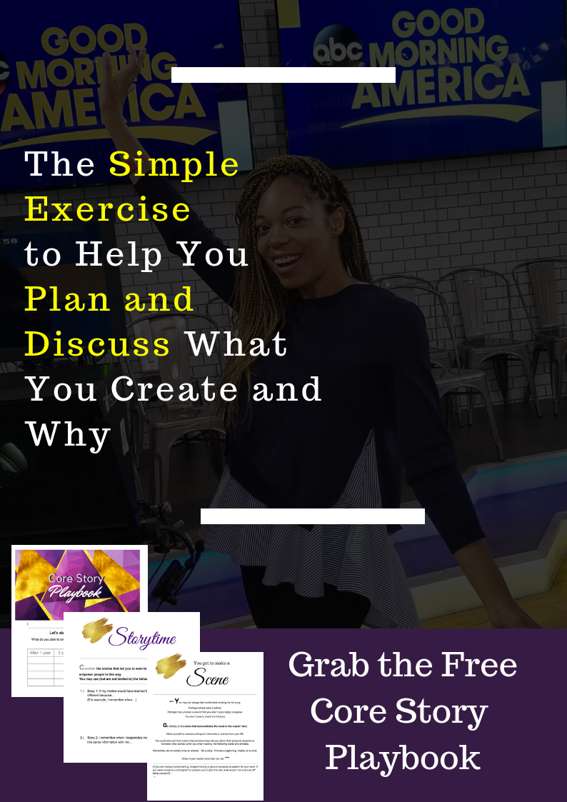 Let this guide provide you with clarity and connection to the stories that drive your work. - This guide will walk you through your vision for the future and the core stories that have led you to truly choose to impact the world in this manner.