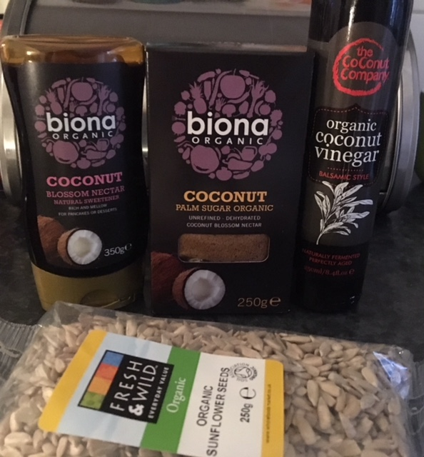 My super ingredients from wholefoods