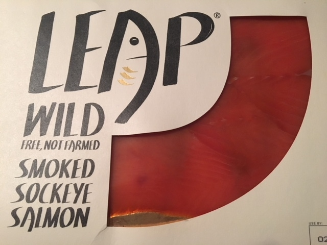 Leap sockeye smoked salmon