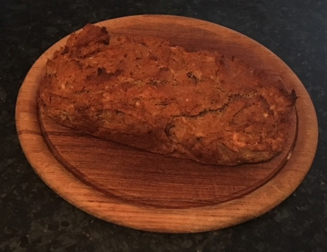 My first attempt banana bread