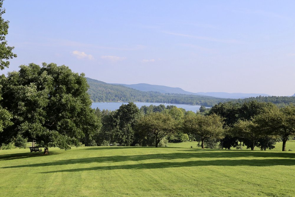The beautiful scenery at Kripalu, Massachusetts, USA