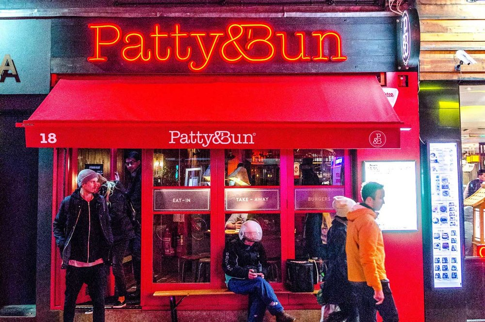 Patty and Bun Old Compton Street