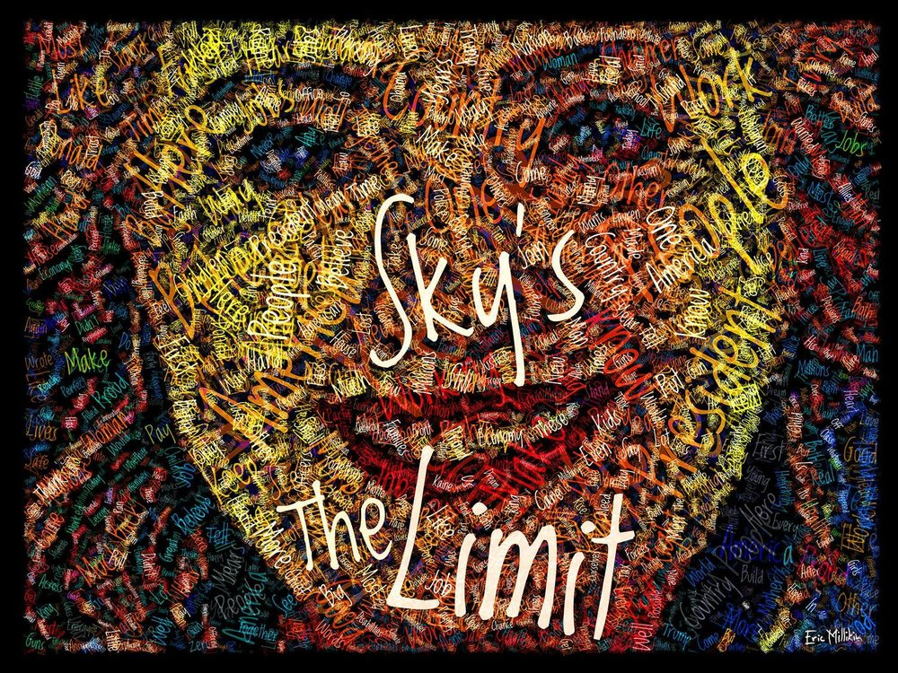 """Hillary Clinton: Sky's the Limit""     2016"