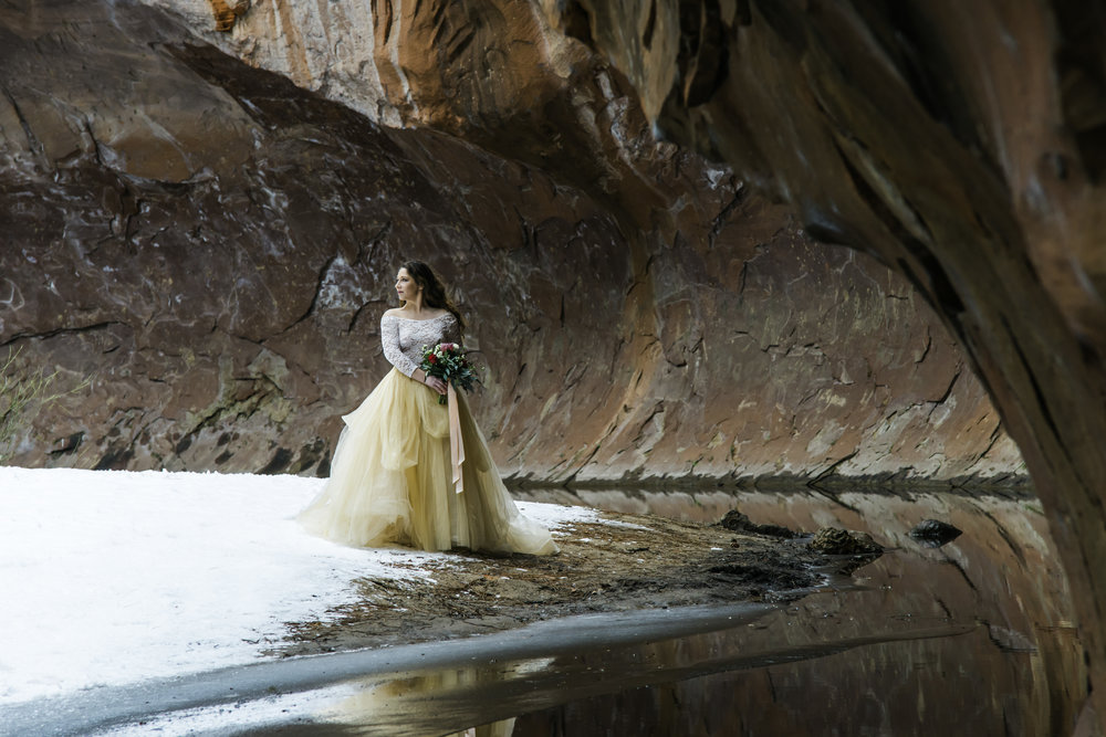 Sedona Bridal Portait