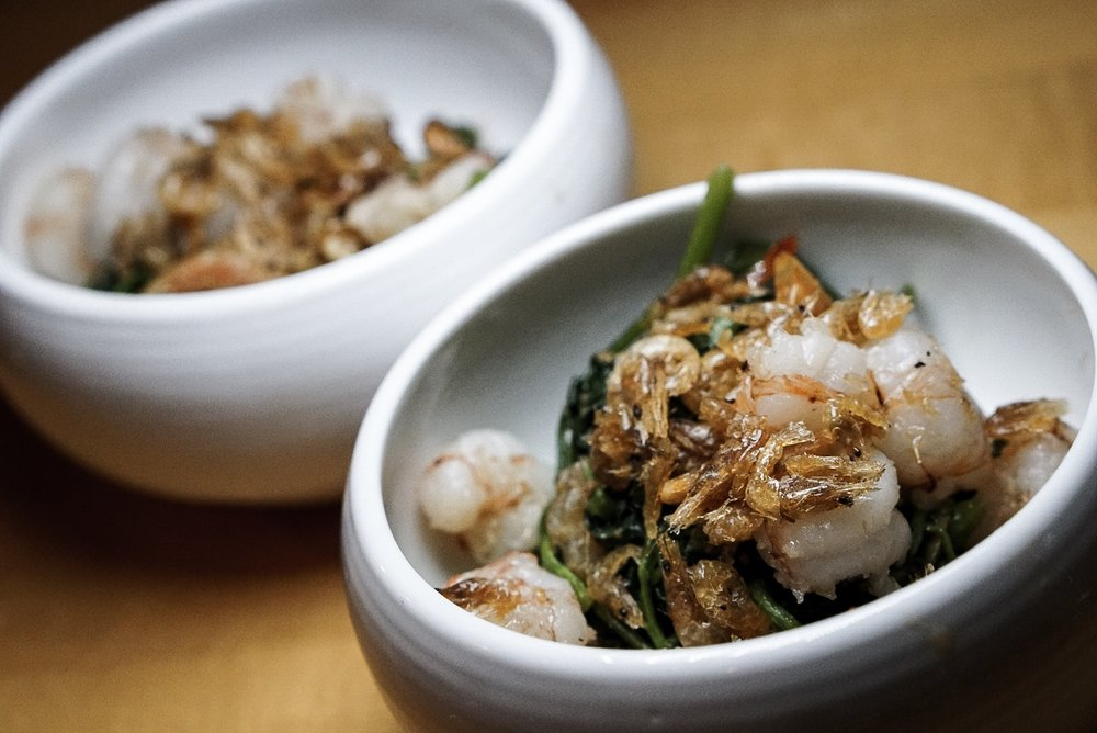 Palamentes & Rock Shrimp