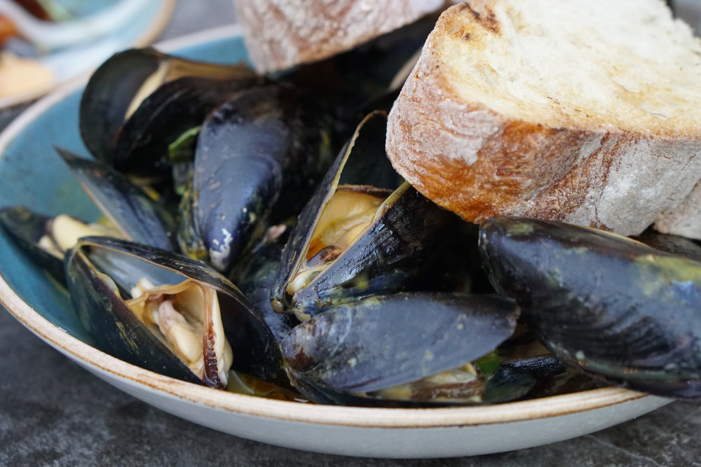 PEI Mussels at Bar Charley