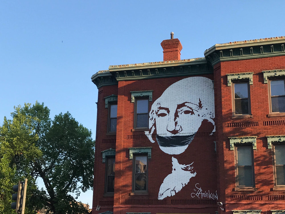 Street art on 14th