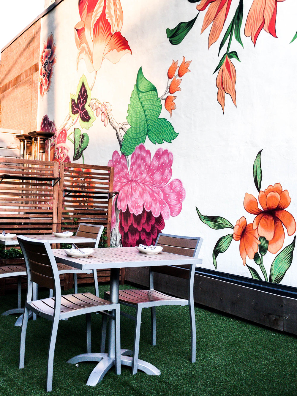Patio at Hazel Restaurant