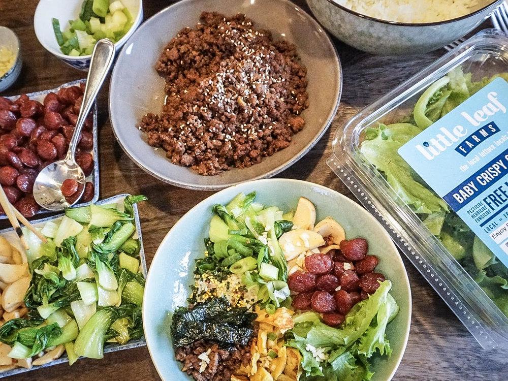 Korean Ground Beef  Time: 20 Minutes   Yield: 4 Servings  Ingredients: