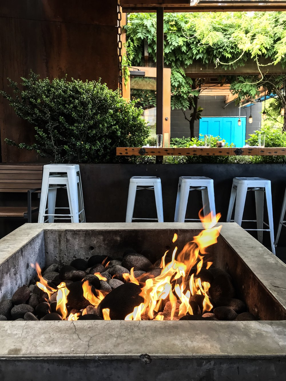 Firepit at Joule