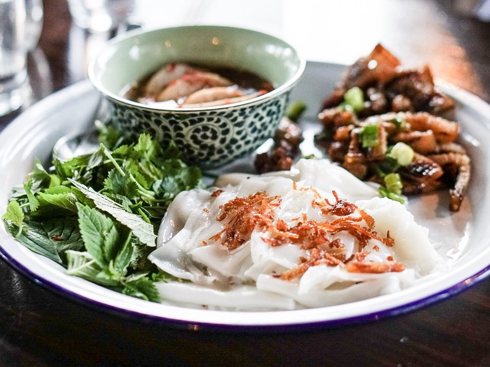 Banh Cuon at Ba Bar