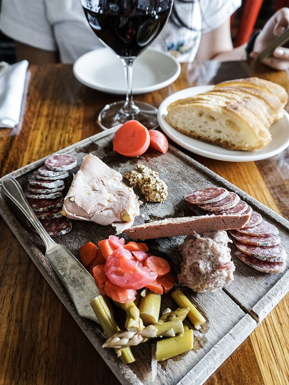 Charcuterie Board at Olympia Provisions