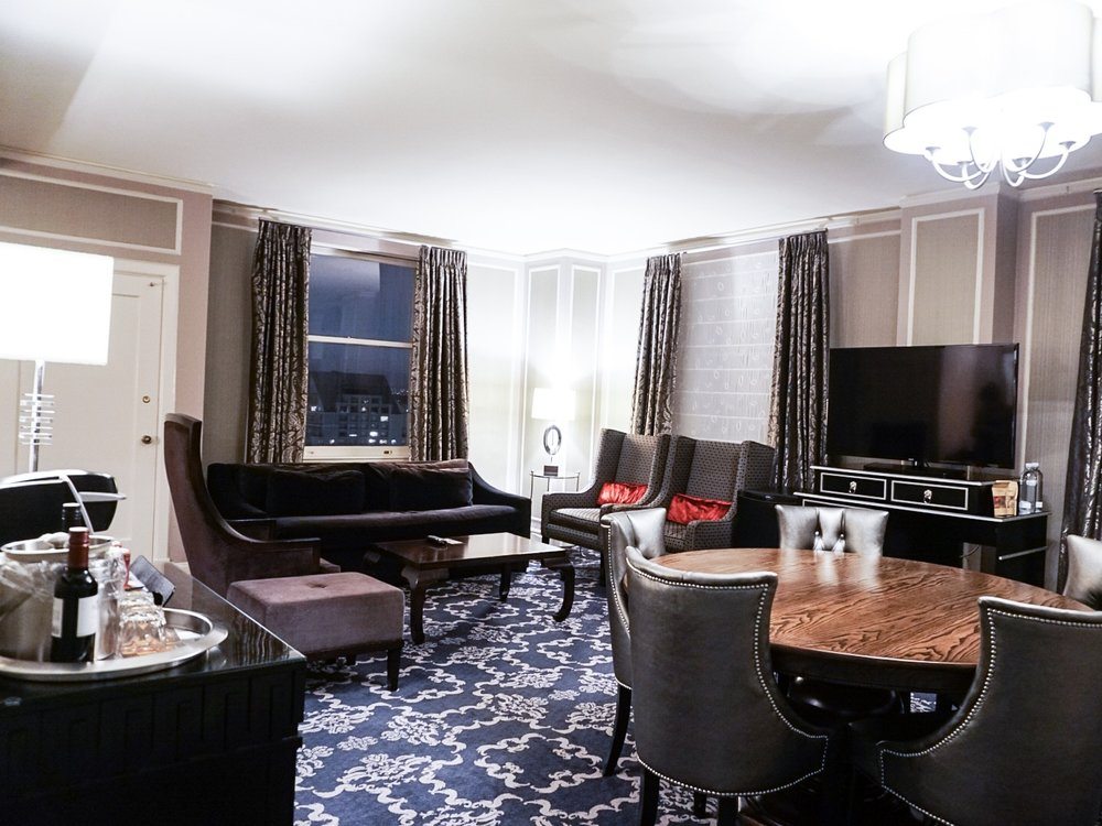 Presidential Suite at Kimpton Sir Francis Drake