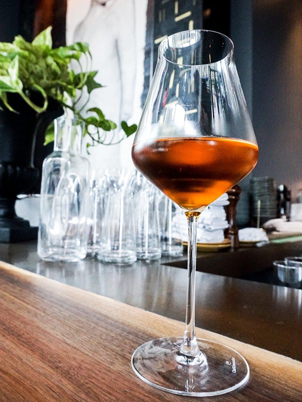 Orange Wine at Nathálie Wine Bar