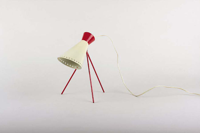 Table Lamp by Josef Hurka (1950s)