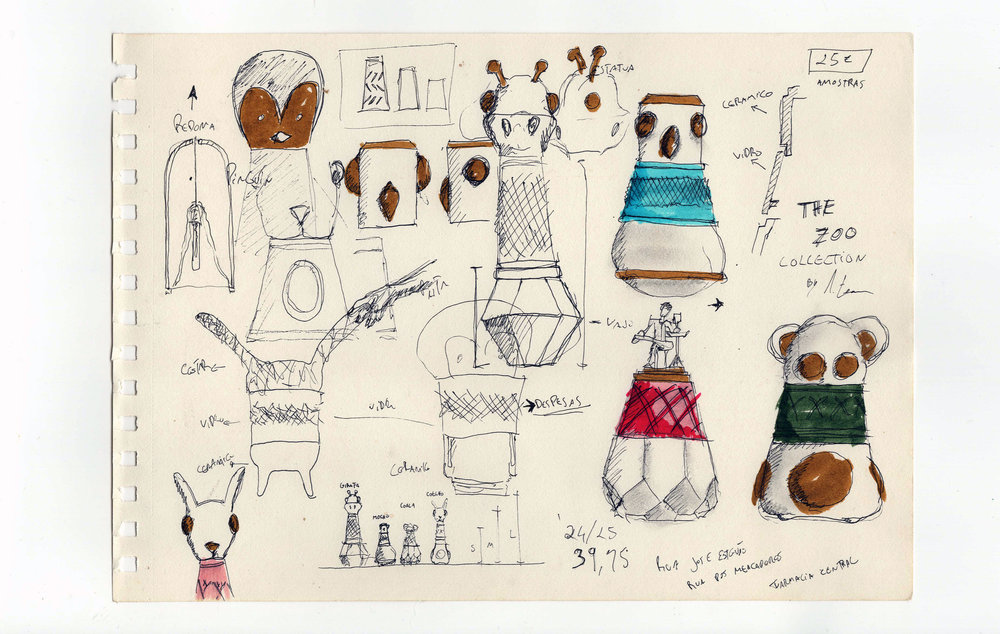 The Zoo sketches ©André Teoman Studio