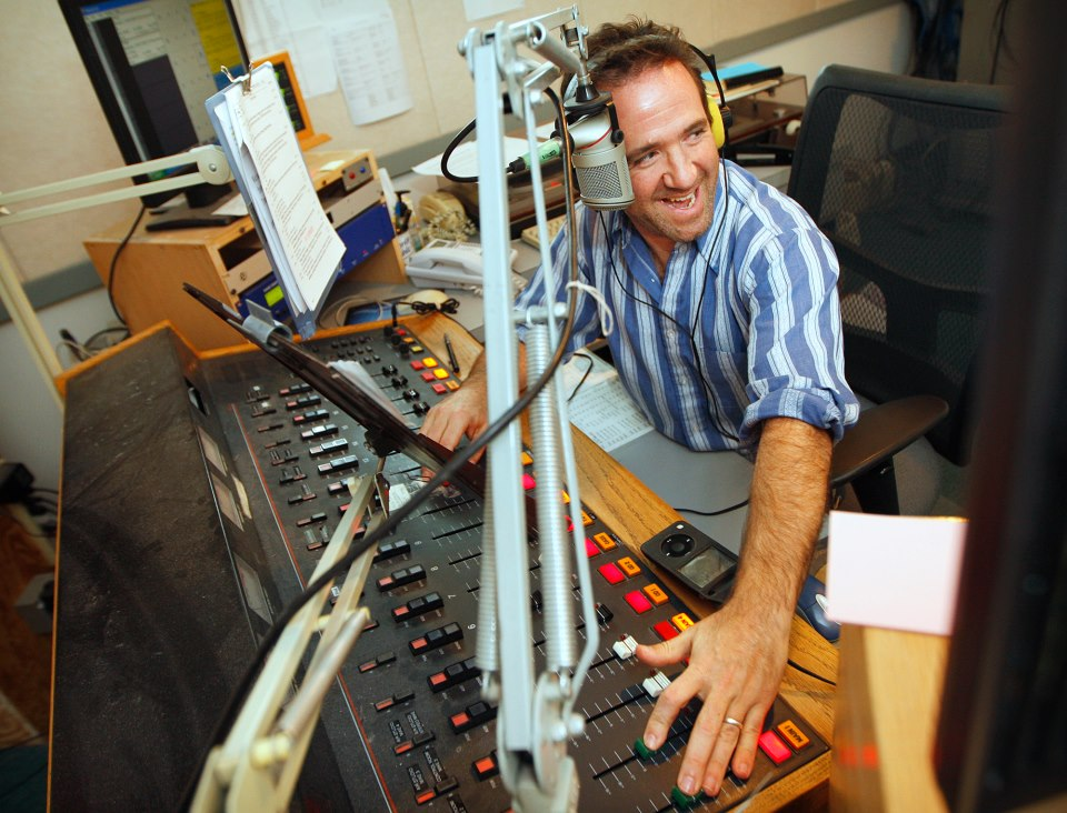 David Sommerstein at work at NCPR. (Photo: Jason Hunter/WDT)