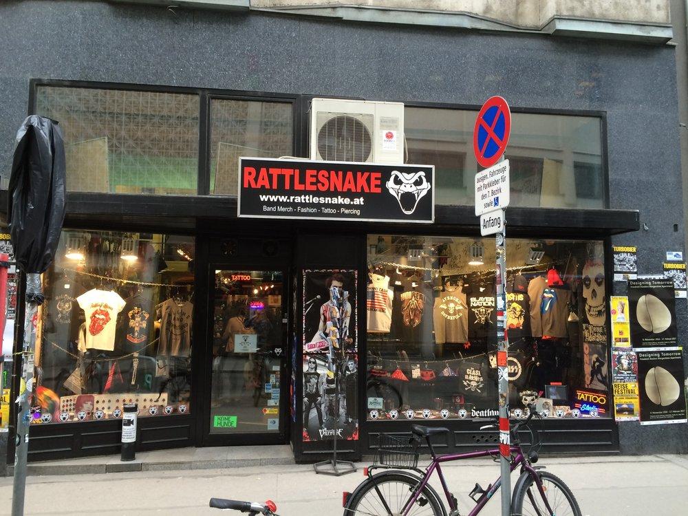 Rattlesnake storefront. (Wyatt Adams)