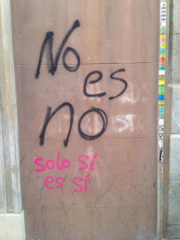 """No means no. Only yes is yes."" (Photo: Ajok Deng)"