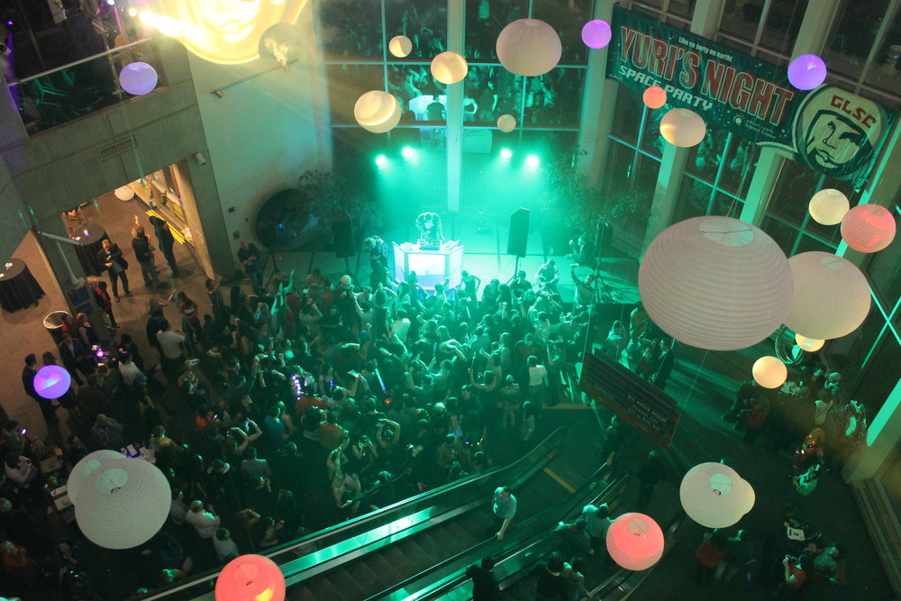 Large scale social events -  Yuri's Night Space Party , Cleveland