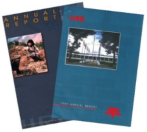 Editor and co-writer   IIRR Annual Reports, 1998 and 1999
