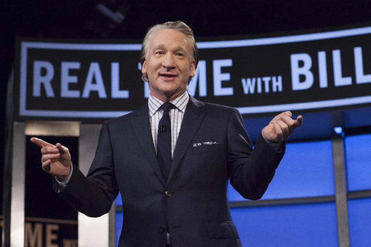 Bill Maher on his HBO show Real Time with Bill Maher.