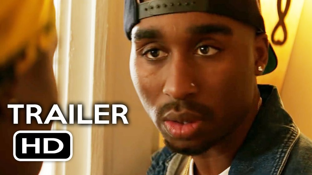 Demetrius Shipp Jr. as Tupac Shakur in Benny Boom's All Eyes on Me.