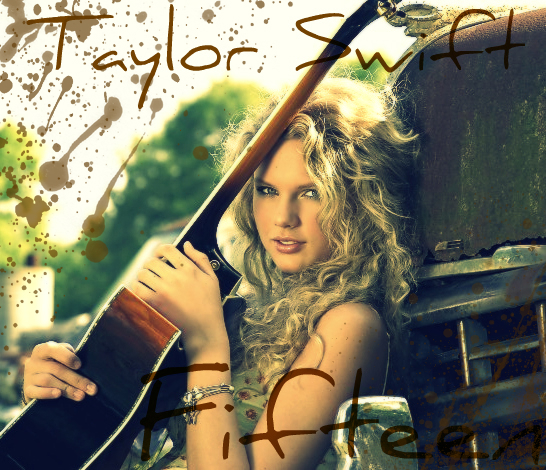 Taylor Swift in 2008. Photo from DeviantArt