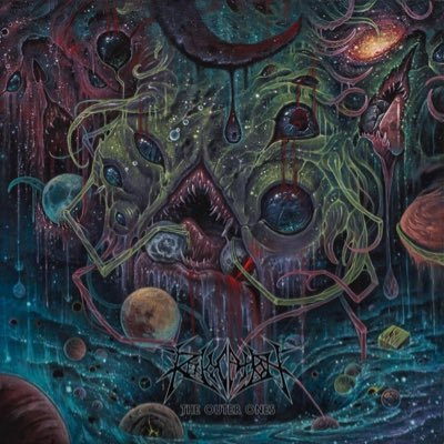 Cover art of Revocation's  The Outer Ones,  released 9/28/18.