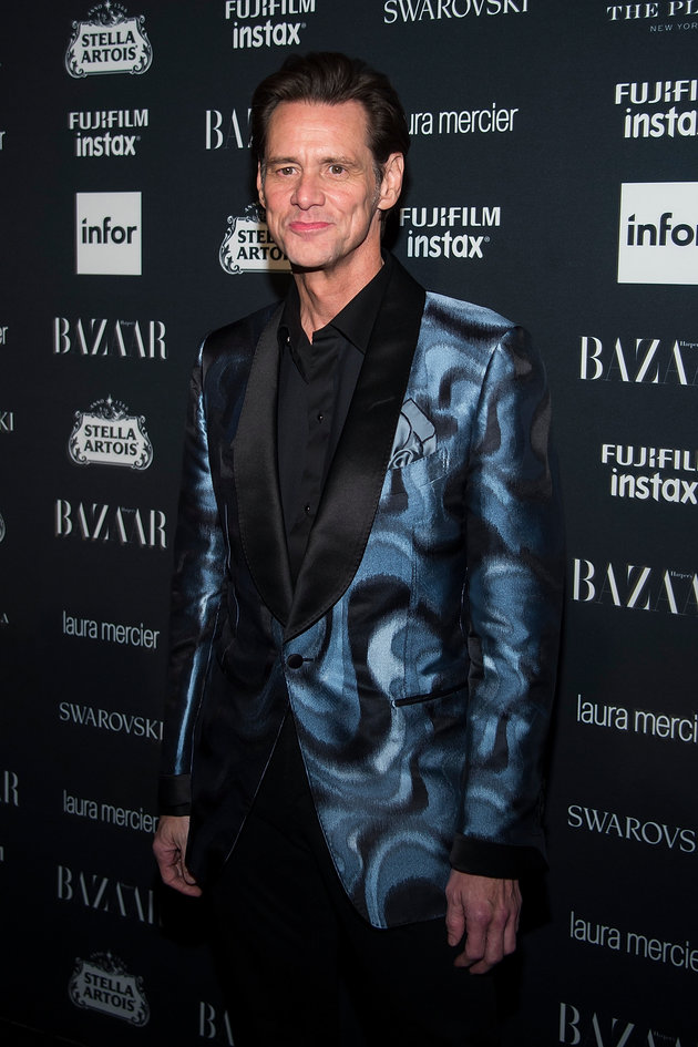 A recent Jim Carrey on the red carpet.