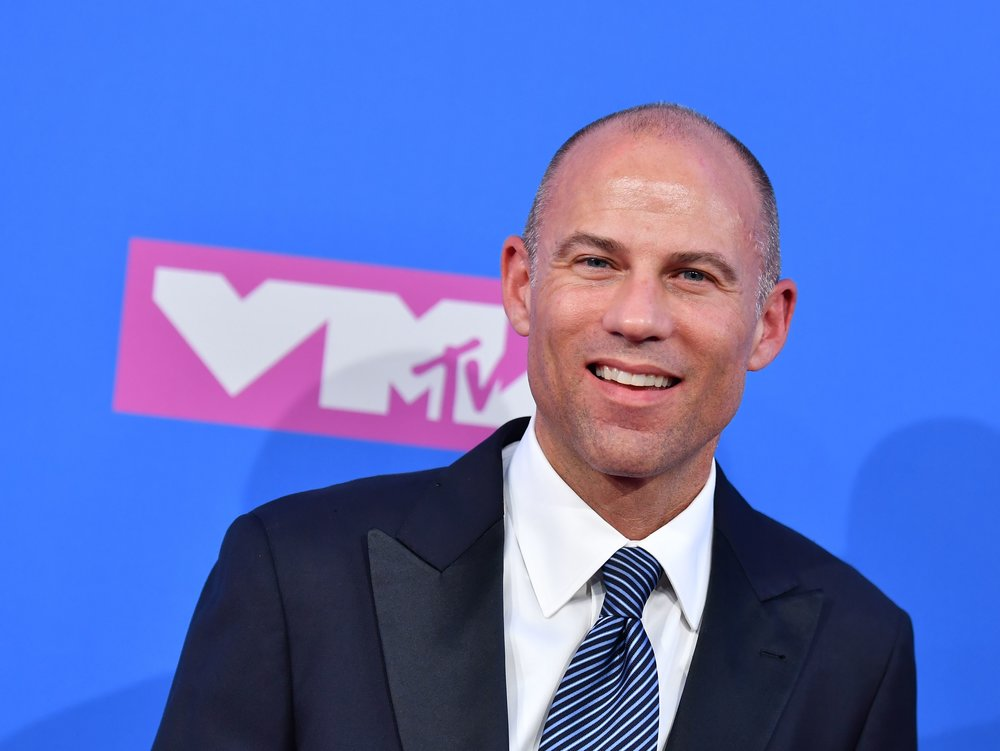 Trump co-conspirator Stormy Daniels' lawyer Michael Avenatti (above) is reportedly planning a 2020 presidential bid