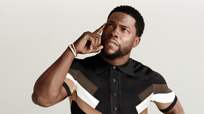 Kevin Hart committing the ultimate sin (that shirt)