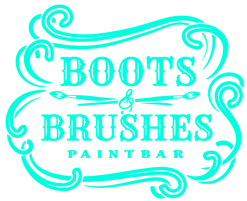 Boots and Brushes Paintbar